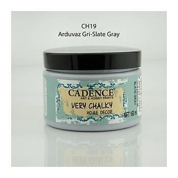Cadence 150 ml ch-19 Arduvaz Gri Very Chalky Home Decor