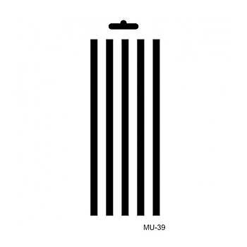 Cadence MU -39 Mix Media  Stencil (Kolay Boyama Þablonu )