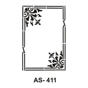 Cadence AS -411 A4 Stencil (Kolay Boyama Þablonu )
