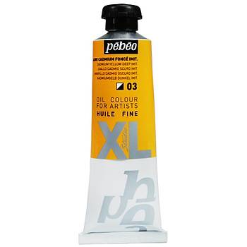 Pebeo Huile Fine XL 37 ml 03  Cadmium Yellow Deep Hue Yaðlý Boya