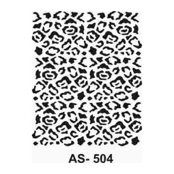 Cadence AS -504  A4 Stencil (Kolay Boyama Þablonu )