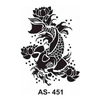 Cadence AS -451 A4 Stencil (Kolay Boyama Þablonu )