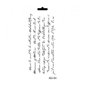 Cadence MU -04 Mix Media  Stencil (Kolay Boyama Þablonu )