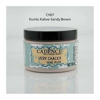 Cadence 150 ml ch-07 Kumlu Kahve Very Chalky Home Decor