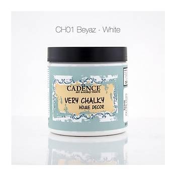 Cadence 500 ml CH-01 Beyaz Very Chalky Home Decor