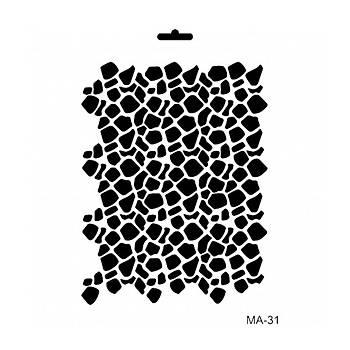 Cadence MA -31 Mix Media  Stencil (Kolay Boyama Þablonu )