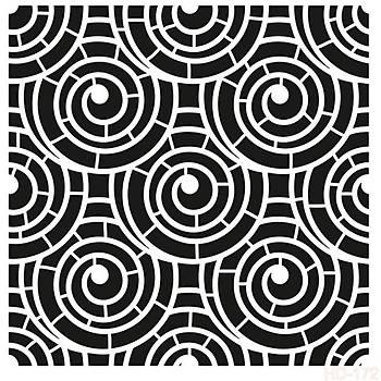 Cadence HD -172 Home Dekor Stencil (Kolay Boyama Þablonu )