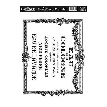 Cadence HDT-36 25 X 35 cm Home Dekor  Transfer