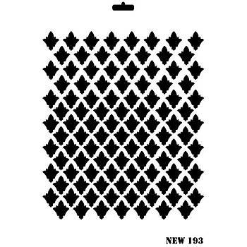 Rich New 193 Stencil (Kolay Boyama Þablonu )