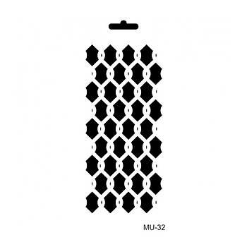 Cadence MU -32 Mix Media  Stencil (Kolay Boyama Þablonu )