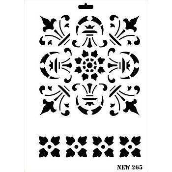 Rich New 265  Stencil (Kolay Boyama Þablonu )