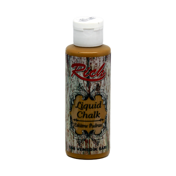 Rich 130 cc 656 Venedik sarý eskitme pudrasý (Liquid chalk )