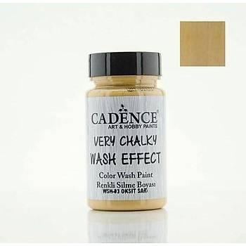 Cadence WSH-03 Oksit Sarý  Very chalky Wash Effect (Renkli Silme Boyasý )