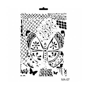 Cadence MA -07 Mix Media  Stencil (Kolay Boyama Þablonu )