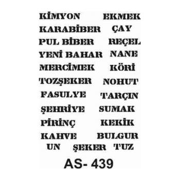 Cadence AS -439 A4 Stencil (Kolay Boyama Þablonu )