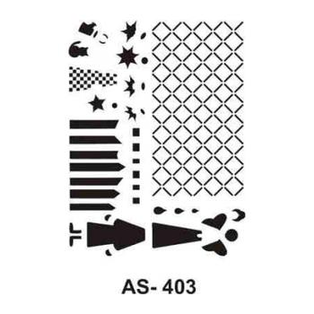 Cadence AS -403 A4 Stencil (Kolay Boyama Þablonu )