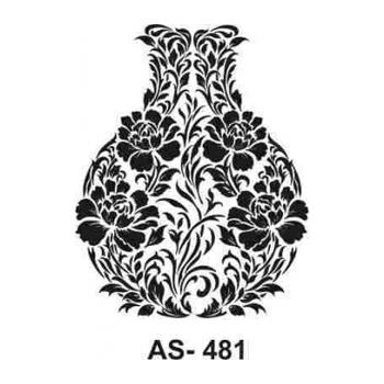 Cadence AS -481 A4 Stencil (Kolay Boyama Þablonu )