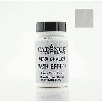 Cadence WSH-02 Antik Beyaz  Very chalky Wash Effect (Renkli Silme Boyasý )