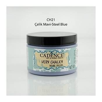 Cadence 150 ml ch-21 Çelik Mavi Very Chalky Home Decor