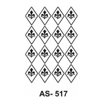 Cadence AS -517  A4 Stencil (Kolay Boyama Þablonu )
