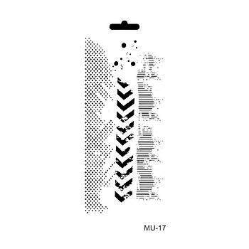 Cadence MU -17 Mix Media  Stencil (Kolay Boyama Þablonu )
