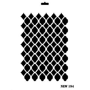 Rich New 194 Stencil (Kolay Boyama Þablonu )