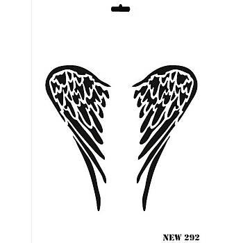 Rich New 292  Stencil (Kolay Boyama Þablonu )