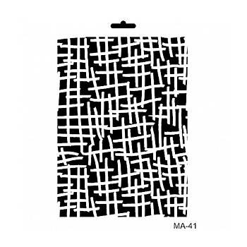 Cadence MA -41 Mix Media  Stencil (Kolay Boyama Þablonu )