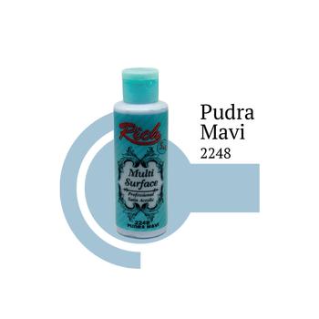 Rich 130 cc 2248 Pudra mavi  Multisurface boya