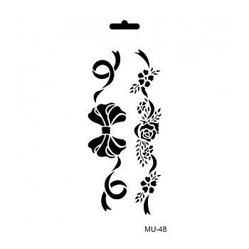 Cadence MU -48 Mix Media  Stencil (Kolay Boyama Þablonu )