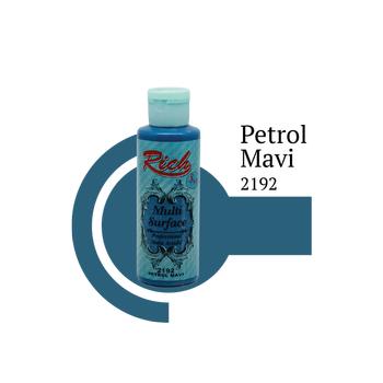 Rich 130 cc 2192 Petrol mavi  Multisurface boya
