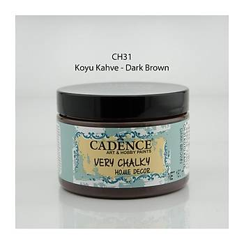 Cadence 150 ml ch-31 Koyu Kahve Very Chalky Home Decor