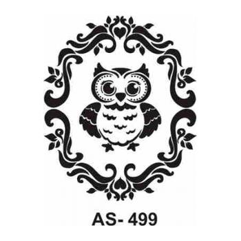 Cadence AS -499 A4 Stencil (Kolay Boyama Þablonu )