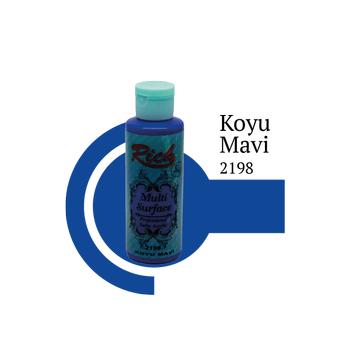 Rich 130 cc 2198 Koyu mavi  Multisurface boya