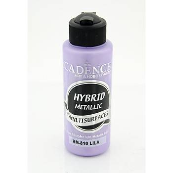 Cadence 120 ml 810 Metalik Lila Hibrid Multisurface  boya