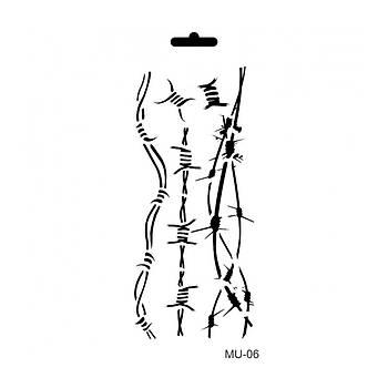 Cadence MU -06 Mix Media  Stencil (Kolay Boyama Þablonu )