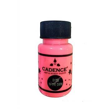 Cadence GD-579 Pembe Glow Ýn Dark (karanlýkta parlayan boya )