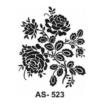 Cadence AS -523  A4 Stencil (Kolay Boyama Þablonu )