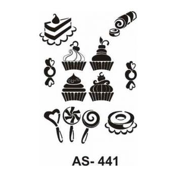 Cadence AS -441 A4 Stencil (Kolay Boyama Þablonu )