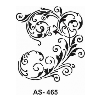 Cadence AS -465 A4 Stencil (Kolay Boyama Þablonu )