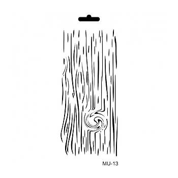Cadence MU -13 Mix Media  Stencil (Kolay Boyama Þablonu )