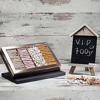 700/4 VIP Behlül Fýstýklý - Kadayýf Fýstýklý - Narlý Fýstýklý Lokum - Lebbess Badem Þekeri 680 g