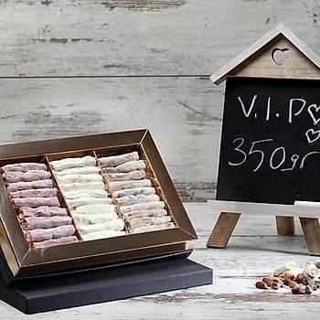 350/1 VIP Behlül Fıstıklı - Sütlü Fıstıklı - Narlı Fıstıklı Lokum