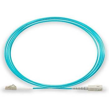 LC-SC Fiber Patch Cord OM3 Simplex, 6 Metre