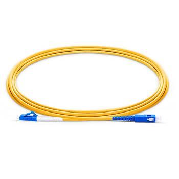 LC-SC Fiber Patch Cord Single Mode Simplex, 60 Metre