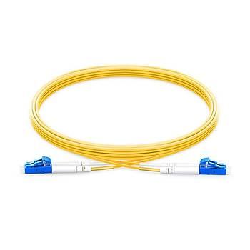 LC-LC Fiber Patch Cord Single Mode Duplex, 1 Metre