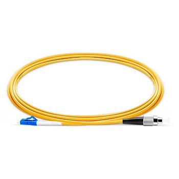 LC-FC Fiber Patch Cord Single Mode Simplex, 20 Metre