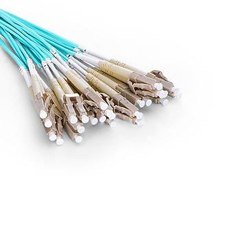 MTP to 12xLC Duplex 24 Fiber OM3 Multimode Patch Cord