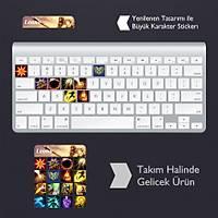 Leona: Klavye Sticker Set