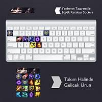 Orianna: Klavye Sticker Set